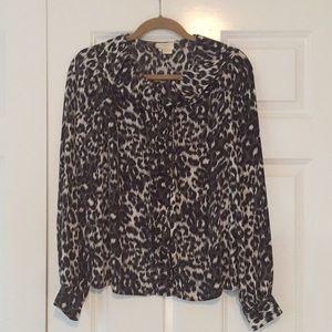 Kate Spade silk blouse, excellent condition!